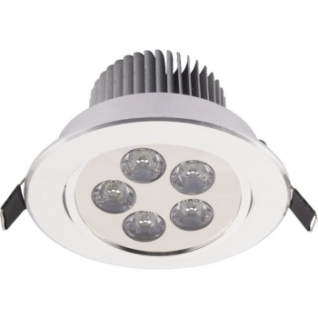 DOWNLIGHT LED V SILVER