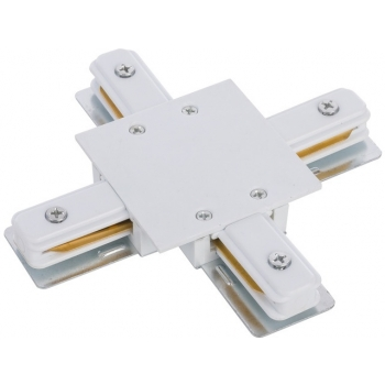 PROFILE RECESSED X-CONNECTOR WHITE T8836