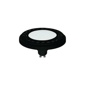 REFLECTOR LED 9W, 3000K, GU10, ES111, ANGLE 120, DIFFUSER, BLACK