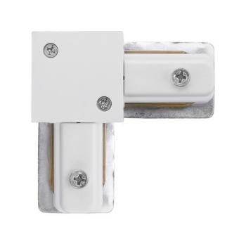 PROFILE L-CONNECTOR WHITE T9456