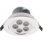 DOWNLIGHT LED V SILVER  T6822