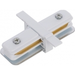 PROFILE RECESSED STRAIGHT CONNECTOR WHITE T8967