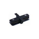 PROFILE RECESSED STRAIGHT CONNECTOR BLACK T8968
