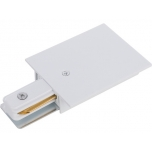 PROFILE RECESSED POWER END CAP WHITE T8972