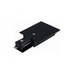 PROFILE RECESSED POWER END CAP BLACK T8973
