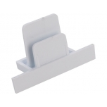 PROFILE RECESSED DEAD END CAP WHITE T8974