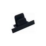PROFILE RECESSED DEAD END CAP BLACK T8975