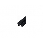 PROFILE RECESSED TRACK BLACK 2 METERS T9015