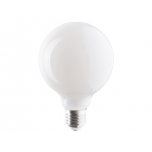 BULB GLASS BALL LED 8W, 3000K, E27, ANGLE 360  T9177