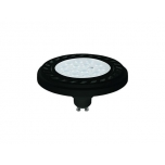 REFLECTOR LED 9W, 4000K, GU10, ES111, ANGLE 30, LENS, BLACK  T9213