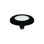 REFLECTOR LED 9W, 3000K, GU10, ES111, ANGLE 120, DIFFUSER, BLACK  T9342