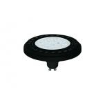 REFLECTOR LED 9W, 3000K, GU10, ES111, ANGLE 30, LENS, BLACK  T9343