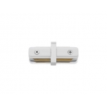 PROFILE STRAIGHT CONNECTOR WHITE T9454